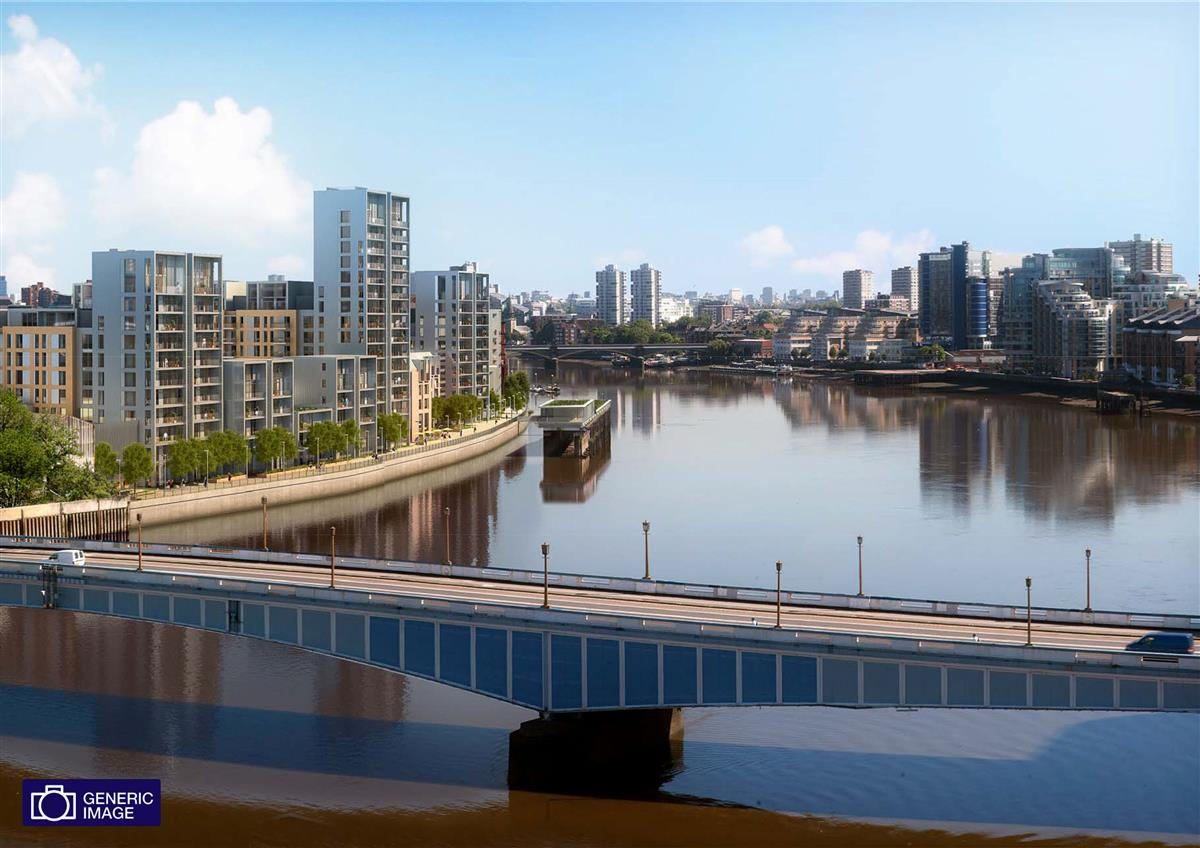 Flat For Sale In Fulham Riverside Sw6 Featuring A Balcony